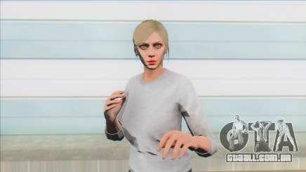 Skin Random 7 From GTA V Online Female para GTA San Andreas