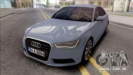 Audi A6 2013 para GTA San Andreas