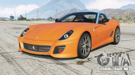 Ferrari 599 GTO 2010 no livery version para GTA 5