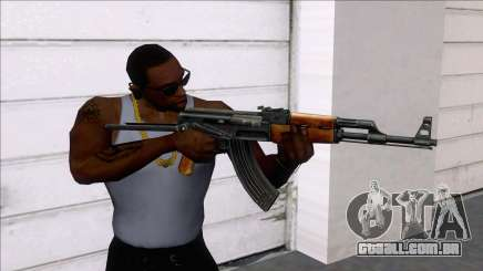 AKMS Assault Rifle para GTA San Andreas