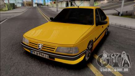 Peugeot 405 GLX Low para GTA San Andreas