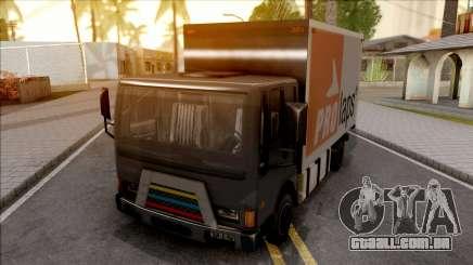 Boxburg Con Logos para GTA San Andreas