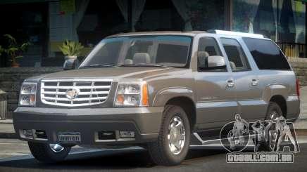Cadillac Escalade TR V1.1 para GTA 4