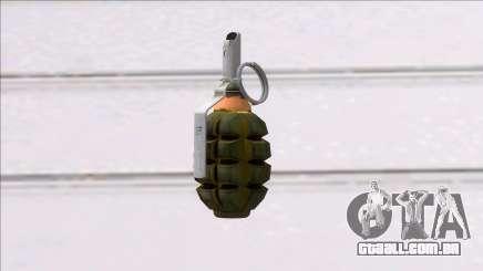 Fear the Wolves F1 Grenade para GTA San Andreas
