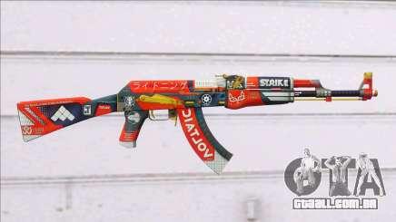 CSGO AK-47 Bloodsport para GTA San Andreas