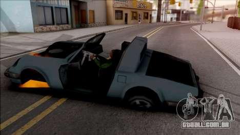 Not Die When Vehicle Explodes para GTA San Andreas
