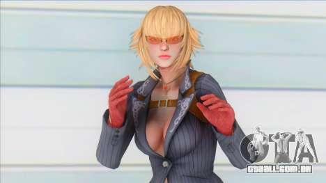 DMC Lady with glasses para GTA San Andreas