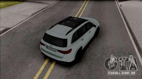 Mercedes-Benz GLS 2020 Grey para GTA San Andreas