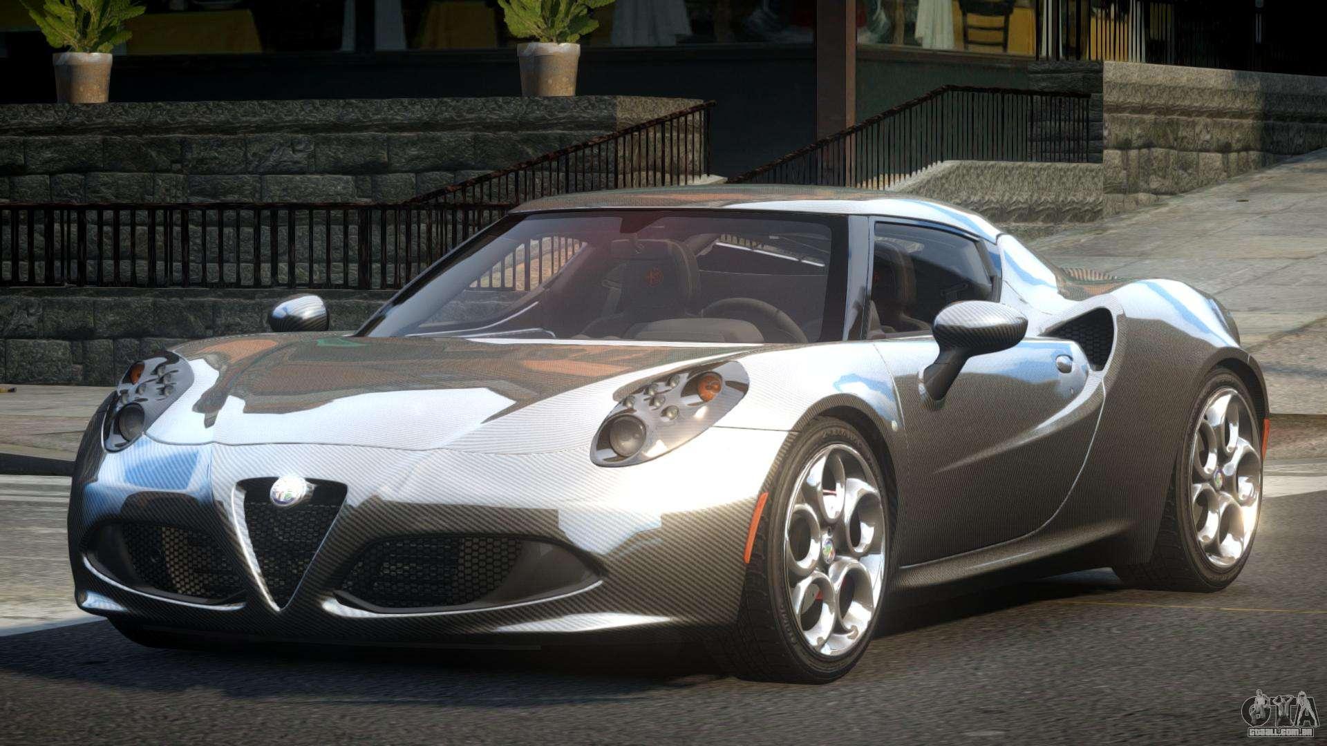 Alfa Romeo 4c L Tuned L1 Para Gta 4