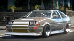 Toyota AE86 HK R-Tuned para GTA 4
