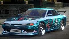 Nissan 200SX BS Racing L5 para GTA 4