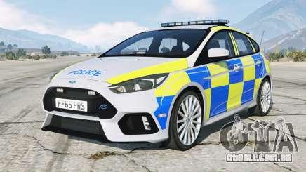 Ford Focus RS Police non ANPR para GTA 5