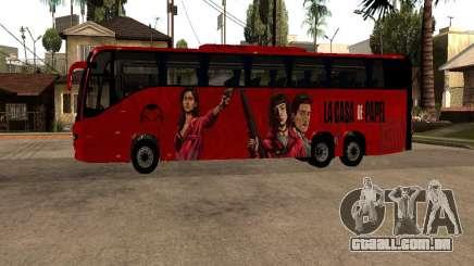 La Casa De Papel bus mod para GTA San Andreas