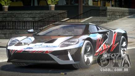 Ford GT BS Racing L8 para GTA 4