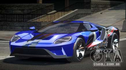 Ford GT BS Racing L1 para GTA 4