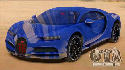 Bugatti Chiron Sport Blue para GTA San Andreas
