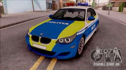 BMW M5 E60 Politia Romana Design 2020 para GTA San Andreas