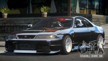 Nissan Skyline R33 L-Tuned para GTA 4
