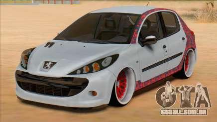 Peugeot 207 Red Sport para GTA San Andreas
