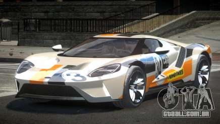 Ford GT BS Racing L5 para GTA 4