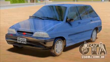 KIA Pride Wagon [Saipa Safari] para GTA San Andreas