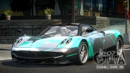 Pagani Huayra BS Racing L1 para GTA 4