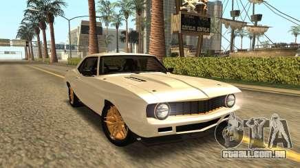 Chevrolet Dutch Boys Camaro SS 1969 para GTA San Andreas