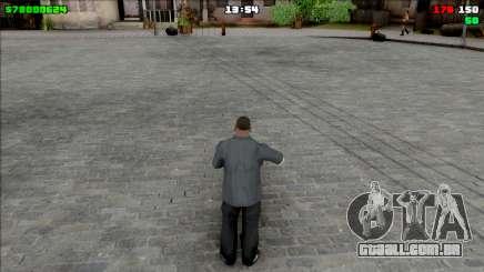 Simple HUD para GTA San Andreas
