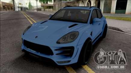 Porsche Macan Ursa TopCar para GTA San Andreas