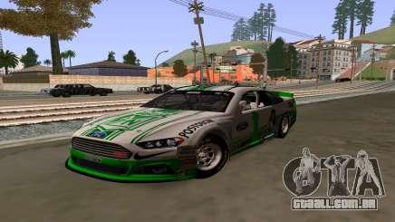 Ford Fusion Nascar: FC Skin National Athletic para GTA San Andreas