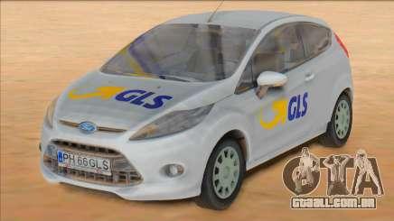 Ford Fiesta Van - GLS Courier para GTA San Andreas