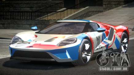 Ford GT BS Racing L4 para GTA 4
