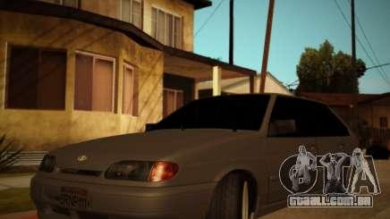 Vaz 2114 No Exterior para GTA San Andreas