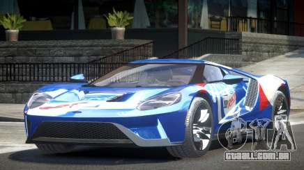 Ford GT BS Racing L7 para GTA 4