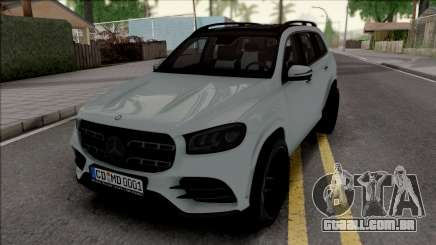 Mercedes-Benz GLS 2020 Grey para GTA San Andreas