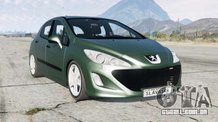 Peugeot 308 HDi 5-door (T7) 2010 para GTA 5