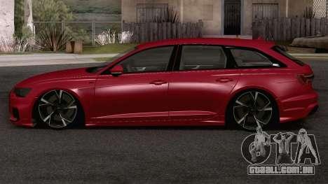 Audi A6 Avant S-Line para GTA San Andreas