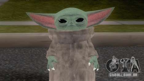 Baby YodaGrogu from The Mandalorian para GTA San Andreas