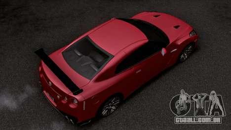 2019 Nissan GTR Special Edition (R35) para GTA San Andreas