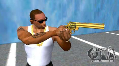 CSO2 Golden Anaconda Revolver para GTA San Andreas