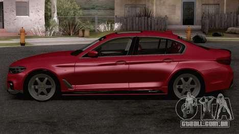 BMW 540i MPerformance para GTA San Andreas