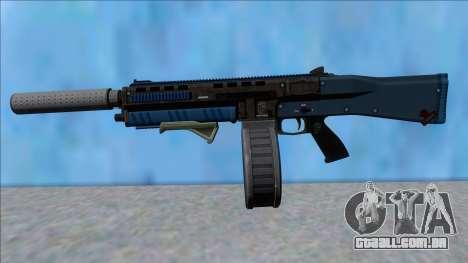 GTA V Vom Feuer Assault Shotgun LSPD V13 para GTA San Andreas