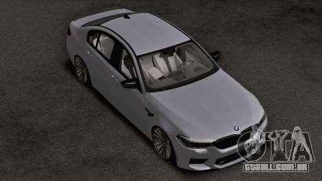 BMW M5 Competition F90 para GTA San Andreas