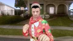 GTA Online Pack de Skins Christmas Parte 2 V4 para GTA San Andreas