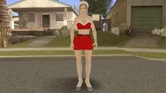 Sarah Brayan Berry Burberry Christmas Special V1 para GTA San Andreas