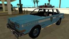 Dodge Diplomat 1987 New York Police Dept para GTA San Andreas
