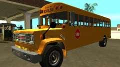 GMC C-70 1970 School Bus para GTA San Andreas