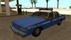 Chevrolet Caprice 1987 New York Police Dept para GTA San Andreas