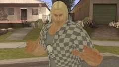 Paul Biker Shortcut Hair V2 para GTA San Andreas