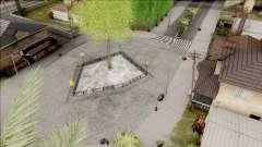 New Grove Street v2 para GTA San Andreas